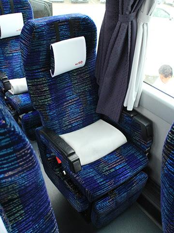道南バス「高速はこだて号」 3946 シート