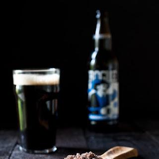 Homemade Stout Beer Salt.