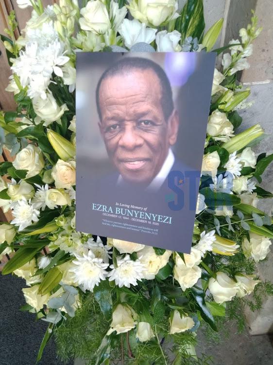 Business magnate Ezra Bunyenyezi died on December 18 at Aga Khan Hospital in Nairobi aged 76.