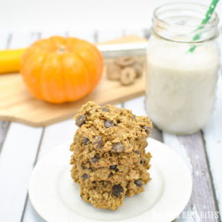 Healthy Pecan Chocolate Chip Pumpkin Oatmeal Cookies