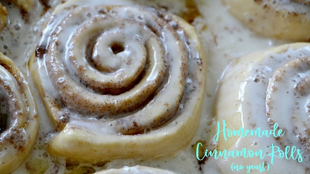 No Yeast Or Baking Powder Cinnamon Rolls Recipes Yummly