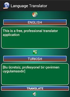 Dil Çevirisi- ekran görüntüsü küçük resmi