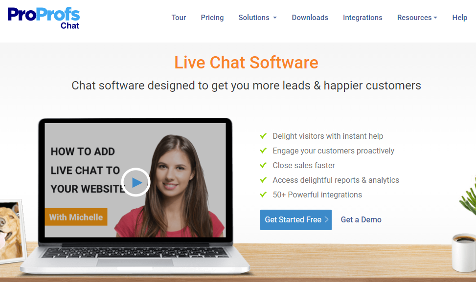 Live chat software for lead genration and happy customer