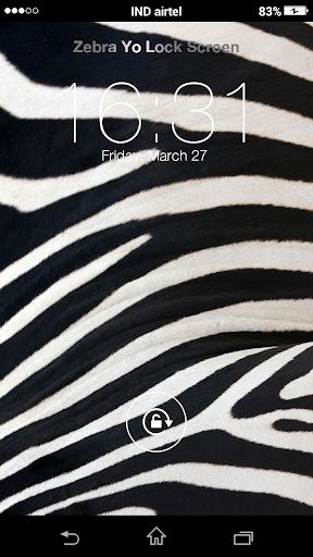 Zebra Yo Locker HD