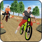 BMX Bicycle OffRoad Racing