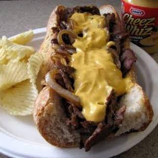 Copycat Pat's Philly Cheese Steak.