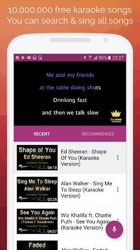 Karaoke 2019: Sing & Record 7.8.0 screenshots 1
