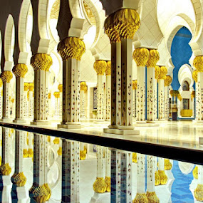 Grand Mosque by Manoj Kumar Kd - Buildings & Architecture Places of Worship ( uae, shake zayed mosque, gand mosque, abu dhabi )