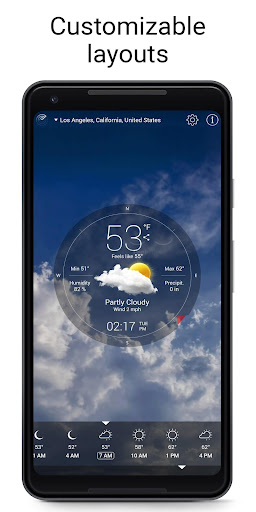 Weather Live 6.15 screenshots 1