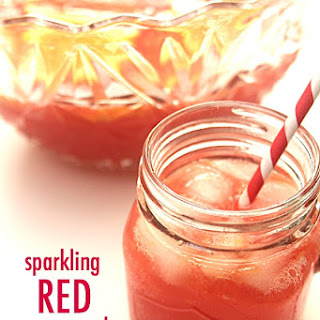 Sparkling Red Party Punch
