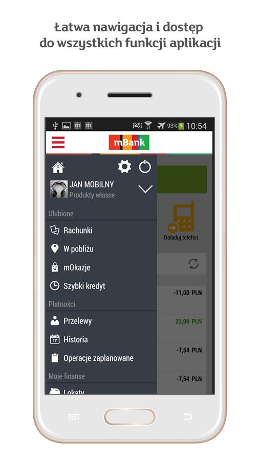 mBank PL- screenshot
