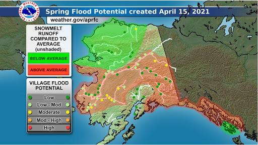 Anticipating Break-up of Alaska's Rivers: Pilot Observations Needed