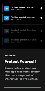 Bouncer - Temporary App Permissions Screenshot