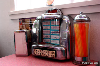 Photo: (Year 2) Day 337 - The Juke Box Selection Machine on our Table