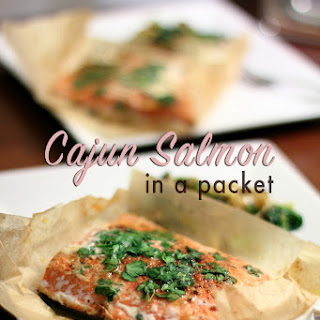 Cajun Salmon In A Packet