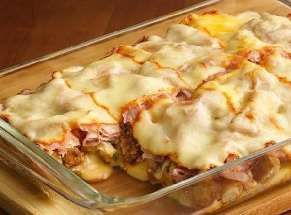 Deep Dish Chicken Cordon Bleu Recipe