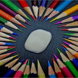 Pencils by Marissa Enslin - Digital Art Things