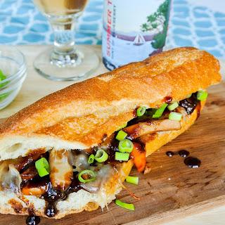 Chicken Teriyaki + Swiss Sub Sandwiches