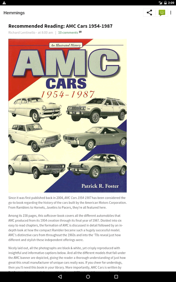 Hemmings Classic Cars for Sale - Android Apps on Google Play