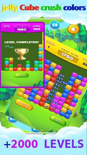 jelly cube crush colors 2019