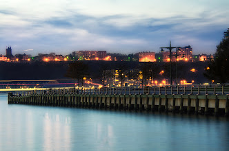 Photo: Good morning Google+sters! This is from my evening walks with the pup  #Westsidehighway  #newyorkcity  #pier  #ny