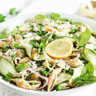 Spring Pea and Zucchini Pasta Salad Recipe