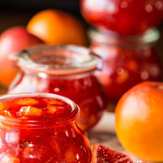 Easy Blood Orange Marmalade.