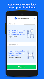 Simple Contacts - Prescription Renewals and Lenses- screenshot thumbnail