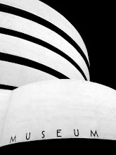 Photo: An abstract look at Frank Lloyd Wright's Guggenheim Museum in New York City.