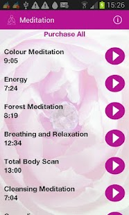 Meditation and More- screenshot thumbnail