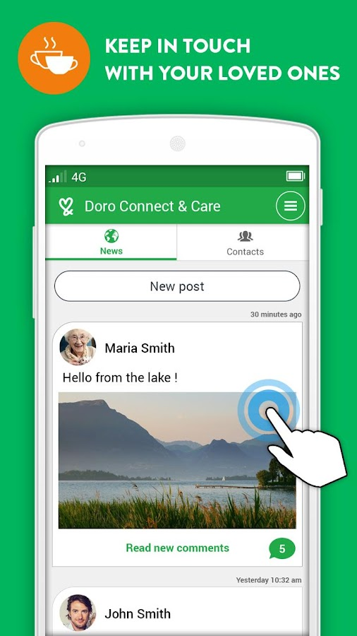 Doro Connect & Care®- screenshot