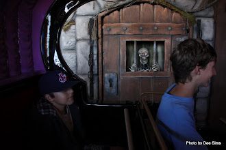 Photo: (Year 3) Day 25 - Going on the Ghost Train #2