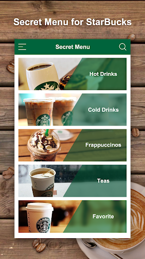 Secret Menu Starbucks