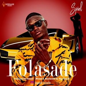 Cover Art for song Folasade. Prod by Freezie