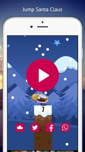 Jump Santa Claus