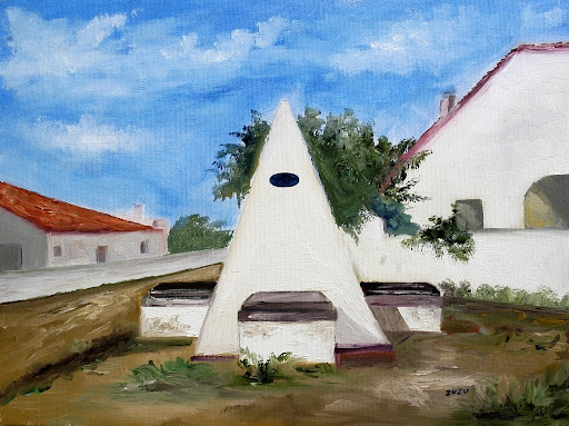 Pintura de Maria Zulmira