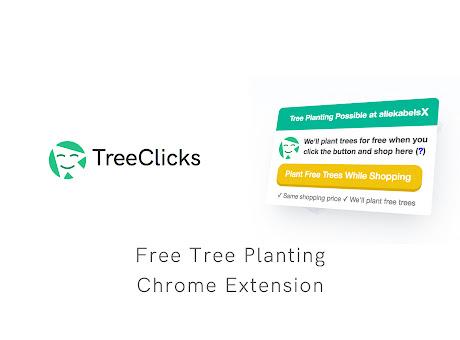 TreeClicks - Plant Trees while Shopping