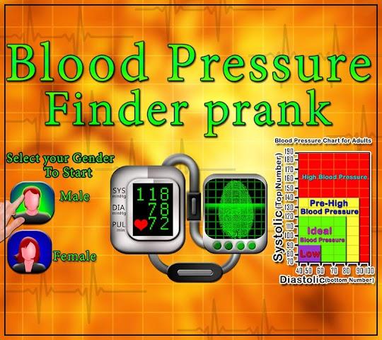 android Blood Pressure Finder Prank Screenshot 8