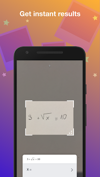 PhotoSolver - Instant Math Solutions