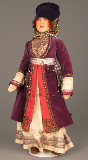 Doll:Woman in Traditional Greek Dress
