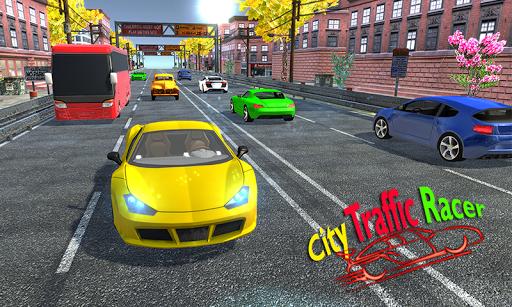 Racing in car 2018 - City traffic racer driving 1.0.4 screenshots 2