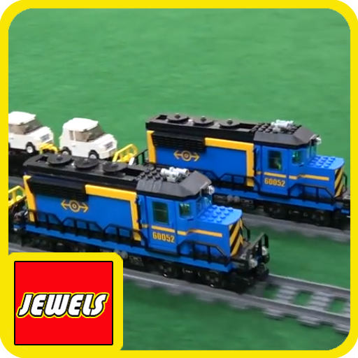 Jewels Of LEGO Trains Freight