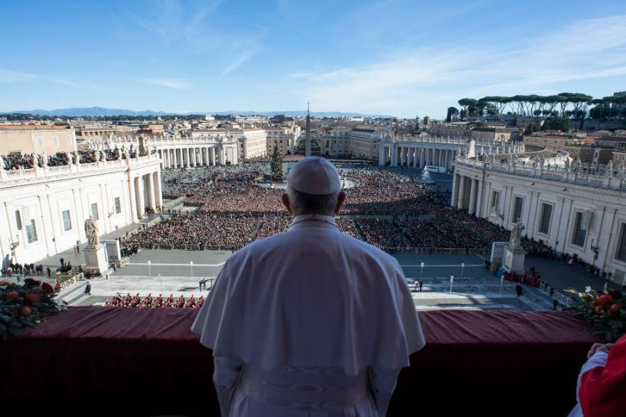 Ubi et Orbi: Pope Francis dedicates Christmas speech to fraternal love