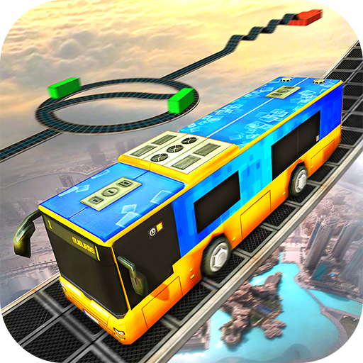 Impossible Sky Bus Driving Simulator Tracks