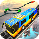 Impossible Sky Bus Driving Simulator Tracks Icon