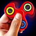 Hand spinner simulator icon