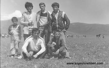 Photo: Deniz (çocuk), Atilla TANCI, Baki, Atabay, Köksal, Ercan, KARAKILIÇ,
