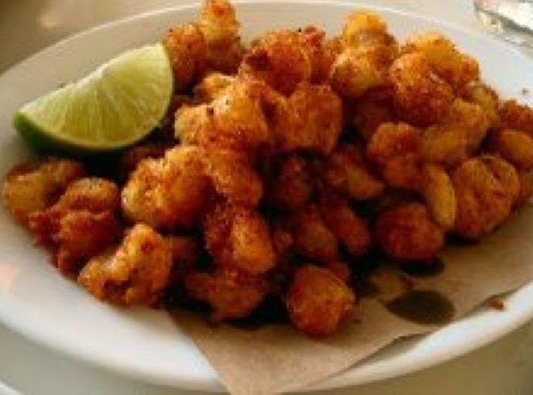 Red Chili Fried Hominy In Bacon Grease Recipe