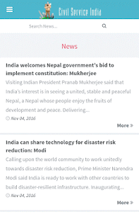 IAS APP by Civil Service India- screenshot thumbnail