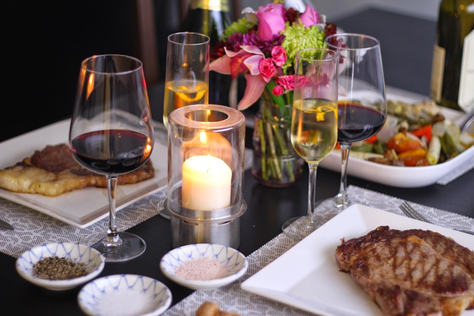 Berdo Sweets 博朶: 在家也可以搞浪漫!!!四步驟搞定情人節燭光晚餐~